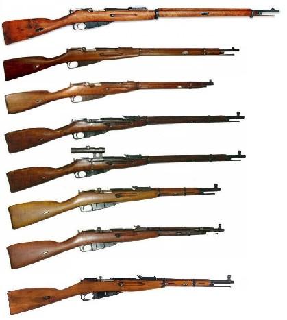 Это вот та славная Трехлинейная винтовка, которая была основным оружием пехоты в Первой Мировой, Граждан- ской и даже в начале Второй Мировой