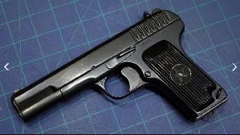 Так выглядит известный из кроссвордов пистолет по названию «ТТ»